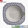 """7"""" Oblique porcelain ceramic soup bowl"""