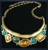 Unique bib necklace