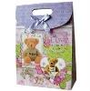 2012 hot sell modern custom fashion designer paper bags ladies handbags