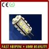 LED G4 light;15pcs 3528 SMD LED;1.2W;DC12V input;warm white color
