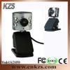USB webcam with 6 LED light and built-in mic