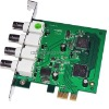 4ch Full D1 Res PCI-E Type CCTV Video Network DVR card