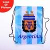 custom Argentina football backpack