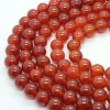 Hot seller natural semi gemstone jewellery red agate