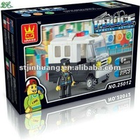 hot sale plastic policeman marvel lasy toy building blocks