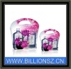 Manufactrue make-up clear plastic box with handle
