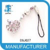 korean style pink crystal hollow mobile phone wholesale