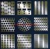 Various shapes Perforated Metal Mesh