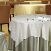 jacquard tablecloths, 100% polyester