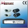 4CH Realtime Recording H.264 security dvr kit