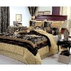 4PC Paisley Queen Comforter Bedding Set Bed in a Bag