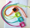 Nice silicone cover with sling for iPod nano 6