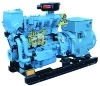 Diesel generator set for ship