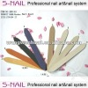 New fashion double sided nail files,new deisgn nail file with cover,OEM doubke nails file