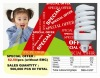 Full spiral energy saving lamp promotion