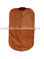 PP non woven garment bag with zipper and plastic handle
