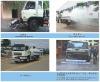 Sewer flushing vehicle