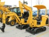 15.5kw engine L380B 1.5 ton mini crawler excavator