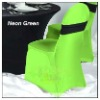 Top quality green lycra spandex chair cover