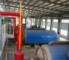 2012 high quality pyrolysis oil waste tyre recycling machinery