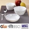 2012 hot sales set of 3pcs ceramic unbreakable bowl