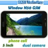 "5"" Window N50 Andriod Tablet PC built-in 3G Phone call function RK2918 Cortex A8 dual cameras 1.3/2.0MP"