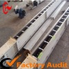 Green Rice Grain Movable Blade Chain Scraper Slat Link Conveyor export to Japan