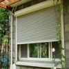 rolling shutter window, aluminum slats, roller shutter door