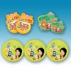 Self-adhesive labels, coated paper label, environmentally friendly paper labels for all kinds of candy, cakes, drinks and other