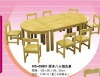 CE certificated kindergarten table furniture ,kids table set