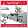 Plastic extrusion Line extruder machine