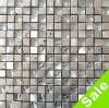 Stone Mix Crystal Glass and Metal Mosaic Tiles