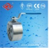 Italy Thin Type Flange Wafer Ball Valve CF8M