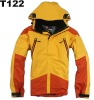 Yellow color winter jacket for men T122