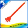 High five plastic ball pen,plastic ball point pen