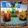 Attractive amusement park coffee cup rides