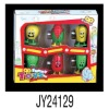 JY24129- 6 style wind up toys wind up vegetable