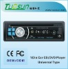 Single din Car CD Player, Compatible with Audio Output/iPod/MP3 Player