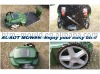 Sale!!!!High quality Newest robot lawn mower