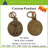 Custom Made Logo Gold Charms and Pendants