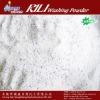 Degerming bulk detergent powder