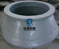bowl and mantle for cone crusher