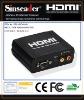 VGA+R/L to HDMI converter