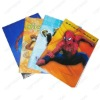 NEW SpiderMan PVC Book Cover, Cartoon Pattern Book Cover for School Students Children Kids