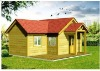 Charming Wooden solid pine villa with 34.2sqm luxury wooden villas