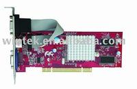 HIGH QUALITY ATI 9000 PCI 64M DDR VGA card for multiple