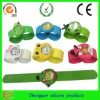 slap silicon cartoon watches for kids