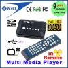 Full HD Media player 1080P Mini Multi-Media Player with Remote Control HDMI Output