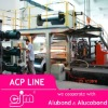 High quality fast acp/aluminium composite panel/board production line