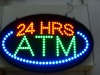 High Quality China LED ATM 24 Hours Signs Display Promotion